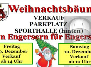 Weihnachtsbaumverkauf in Engers