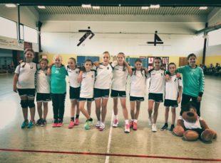 TV Engers weibliche D-Jugend gewinnt die Vorrunde und zieht ins Finale des EVM Cups ein