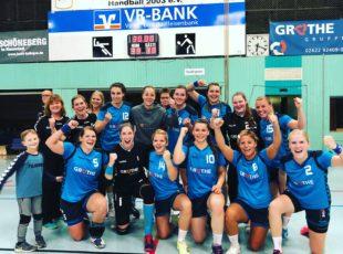 Unsere Erste Damen-Mannschaft zeigt sich kämpferisch und entschlossen und gewinnt das Heimspiel gegen den SV Zweibrücken hoch mit 39:30
