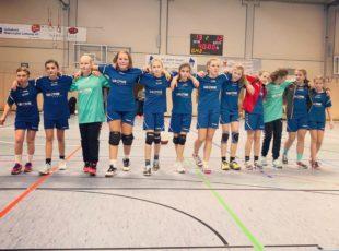 Weibliche Handball D-Jugend des TV Engers kassiert erste Niederlage 12:13 (6:8)