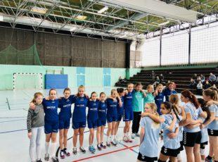 D Jugend spielt tollen Kombinations-Handball und gewinnt mit 31:8 gegen Hamm/AK