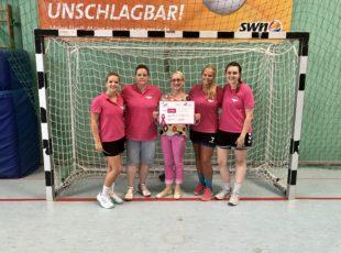 Benefitz-Handball-Turnier zu Gunsten Brustkrebs Deutschland e.V. war ein voller Erfolg.