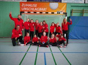 Handball weibliche D Jugend des TV Engers fährt Doppelsieg ein